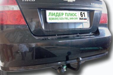 Фаркоп для CHEVROLET Aveo T250 седан 2006-2011