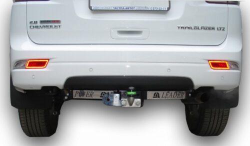 Фаркоп для CHEVROLET Trailblazer GM800 2012 с нержавеющей пластиной