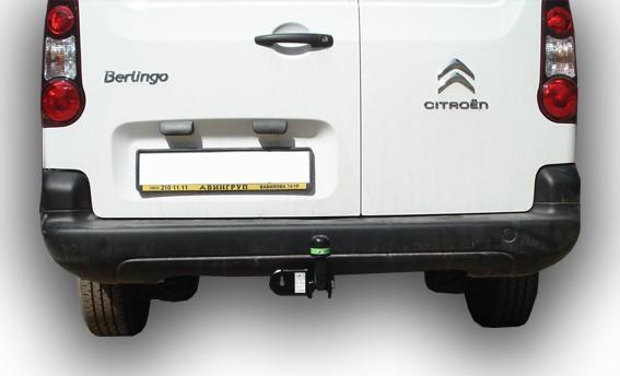 Фаркоп для Citroen Berlingo L2 B9, Peugeot Partner L2 B9 2008-... - Фото