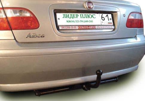 Фаркоп для FIAT Albea седан 2003-... - Фото
