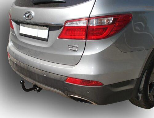 Фаркоп для Hyundai Santa Fe DM 2012-... дизель, KIA Sorento 4 XM FL 2012-2015 - Фото