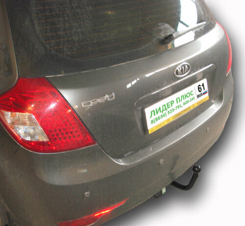 Фаркоп для KIA Ceed ED хетчбек 2007-2012, Hyundai i30 FD 2008-2012 - Фото