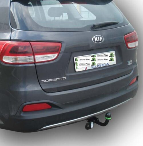 Фаркоп для Kia Sorento 4 2015-... дизель, бензин и Hyundai Santa Fe 2015-... дизель - Фото