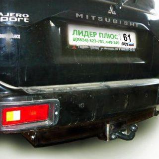 Фаркоп для MITSUBISHI Pajero Sport K90 1998-2008 с нерж. пласт.