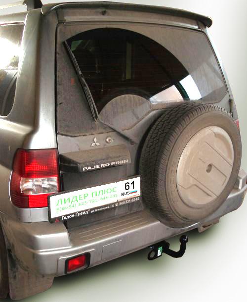 Фаркоп для Mitsubishi Pajero Pinin H6 1999-2006 - Фото
