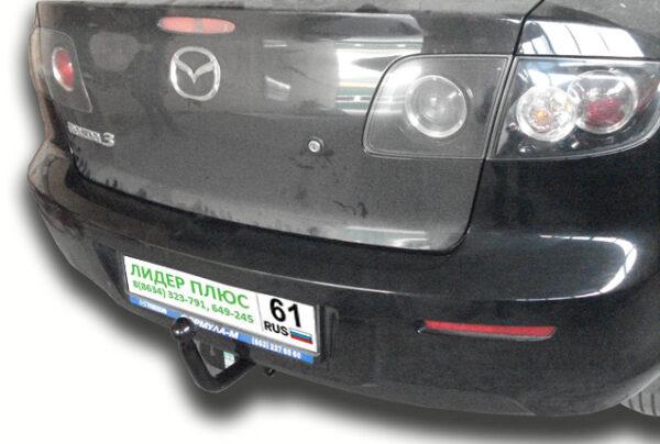 Фаркоп для Mazda 3 BK седан, хетчбек 2003-2008 - Фото