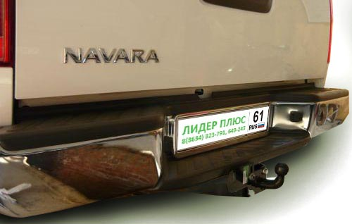 Фаркоп для NISSAN Navara Double Cab D40 со ступенькой 2005 F