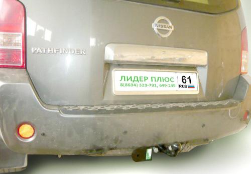 Фаркоп для Nissan Pathfinder 3 R51 - Фото