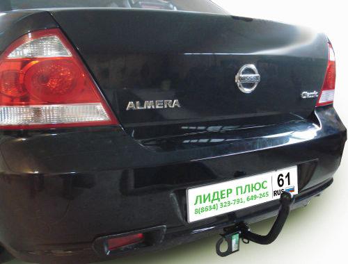 Фаркоп для Nissan Almera Classic B10 2006-2010 - Фото
