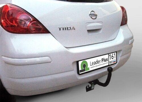 Фаркоп для Nissan Tiida C11 хетчбек 2007-2014 - Фото