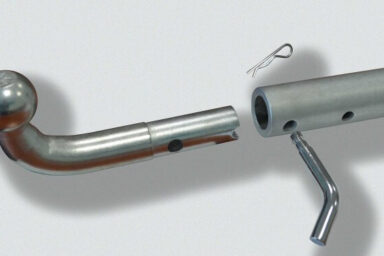 фаркоп на опель антара