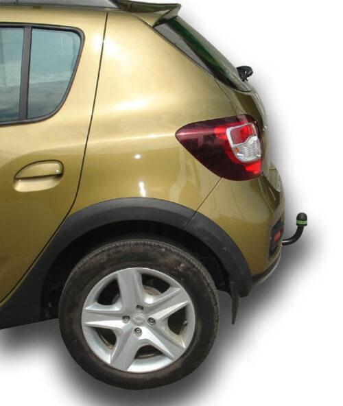 Фаркоп для Renault Logan седан 2005-2014, Sandero 2014-2018, Sandero Stepway 2014-2018