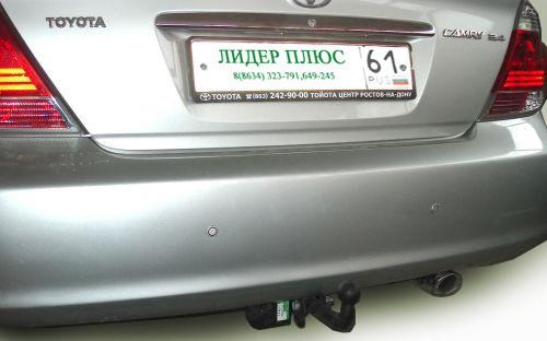 Фаркоп для Toyota Camry V30 седан 2002-2006 - Фото
