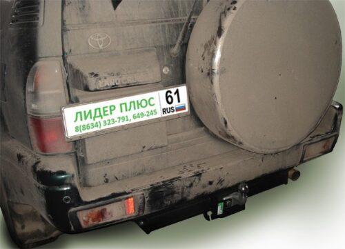 Фаркоп для TOYOTA Land Cruiser Prado 90 J9 1996-2002 5 дверей F - Фото