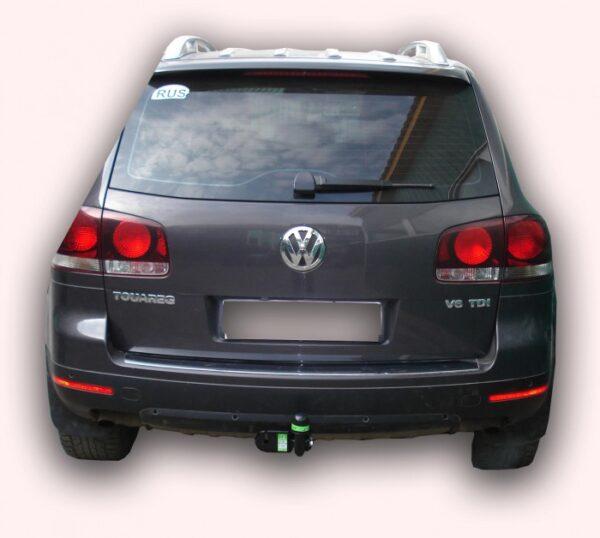 Фаркоп для Volkswagen Touareg 2002-2018, Audi Q7 2005-2015, PORSCHE CAYENNE 2002-2018 - Фото