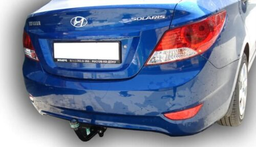 Фаркоп для Hyundai Solaris 2010-2017 седан и хетчбек и Kia Rio 2011-...