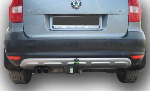 Фаркоп для Volkswagen Tiguan 2007-..., Jetta 2010-..., Skoda Yeti 2009-..., Kodiaq 2016-...