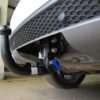 Фаркоп оцинкованный Volkswagen Golf VII хетчбек 5 дверей 2013-, SEAT Leon хетчбек 5 дверей 2013-, Audi A3 хетчбек 3/5 дверей 2012- быстросъемное крепление шара