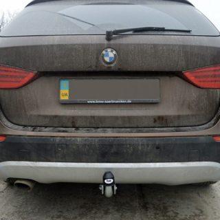 Фаркоп оцинкованный BMW X1 F48 07/2015-, BMW 2-Series Active Tourer F45 09/2014-, BMW 2-Series Gran Tourer F46 05/2015- условно-съемное крепление шара