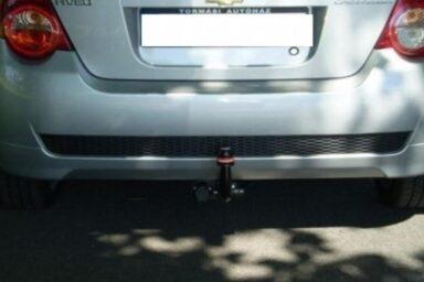 Фаркоп оцинкованный Chevrolet Aveo седан 2002-2012 условно-съемное крепление шара