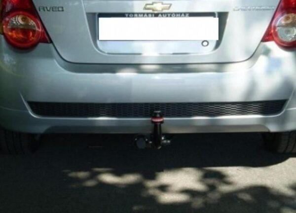 Фаркоп оцинкованный Chevrolet Aveo седан 2002-2012 быстросъемное крепление шара - Фото