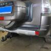 Фаркоп оцинкованный Mitsubishi Pajero Sport 1998-2008 условно-съемное крепление шара