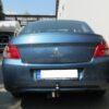 Фаркоп оцинкованный Citroen C-Elysee 2013-2016, Peugeot 301 2013-2016 условно-съемное крепление шара