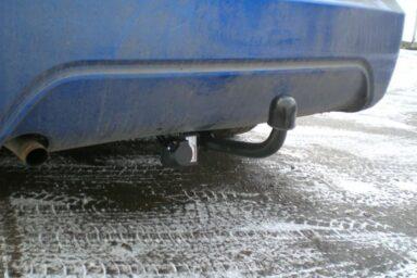 Фаркоп оцинкованный Daewoo Nexia седан 1995-2010, Daewoo Espero седан 1995-1997 быстросъемное крепление шара