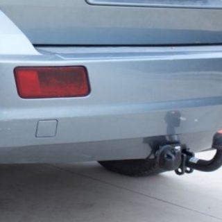 Фаркоп оцинкованный Dodge Journey 2008-2013, FIAT Freemont 2011-, кроме авто с запаской снизу быстросъемное крепление шара