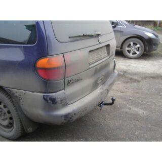 Фаркоп оцинкованный Ford Galaxy 1995-2000, SEAT Alhambra 1996-2000, Volkswagen Sharan 1995-2000 условно-съемное крепление шара