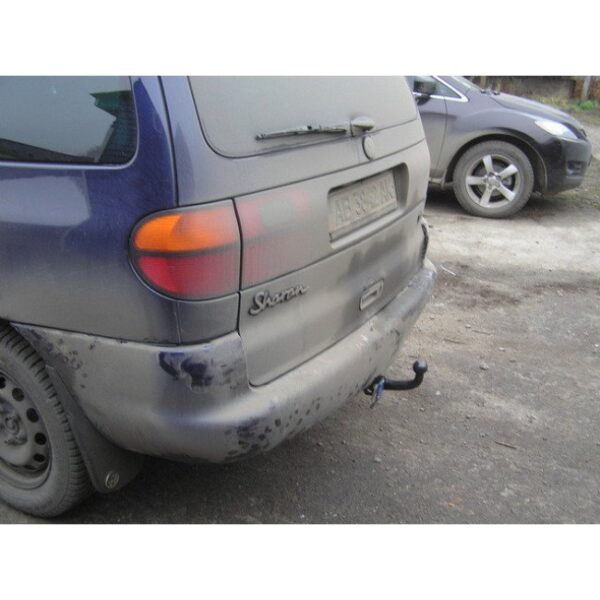 Фаркоп оцинкованный Ford Galaxy 1995-2000, SEAT Alhambra 1996-2000, Volkswagen Sharan 1995-2000 быстросъемное крепление шара - Фото