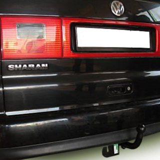 Фаркоп оцинкованный Ford Galaxy 2000-2006, SEAT Alhambra 2000-2010, Volkswagen Sharan 2000-2010 условно-съемное крепление шара