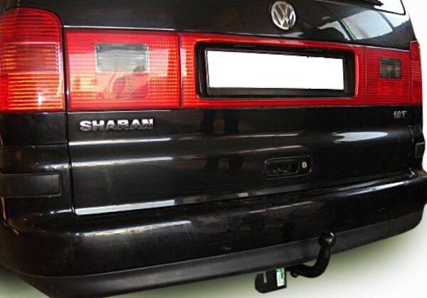 Фаркоп оцинкованный Ford Galaxy 2000-2006, SEAT Alhambra 2000-2010, Volkswagen Sharan 2000-2010 быстросъемное крепление шара - Фото