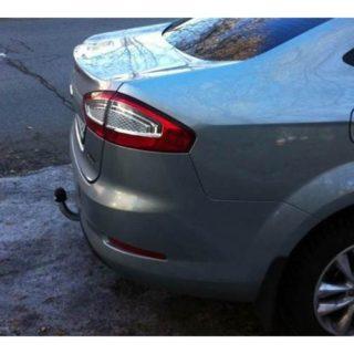 Фаркоп оцинкованный Ford Mondeo седан/лифтбек/универсал 2014- условно-съемное крепление шара
