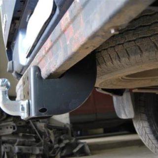 Фаркоп оцинкованный Ford Ranger 1996-2007, 2007-2012, Mazda B2500 1996-2007, Mazda BT-50 2007-2012 условно-съемное крепление шара