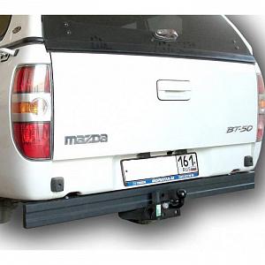 Фаркоп оцинкованный Ford Ranger 2012-, Mazda BT50 2012- быстросъемное крепление шара - Фото