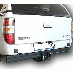 Фаркоп оцинкованный Ford Ranger 2012-, Mazda BT50 2012- условно-съемное крепление шара