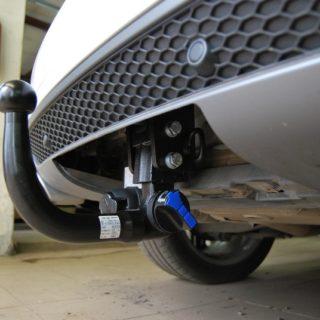 Фаркоп оцинкованный Honda Civic 5 дверный хетчбек 2006-2012 быстросъемное крепление шара