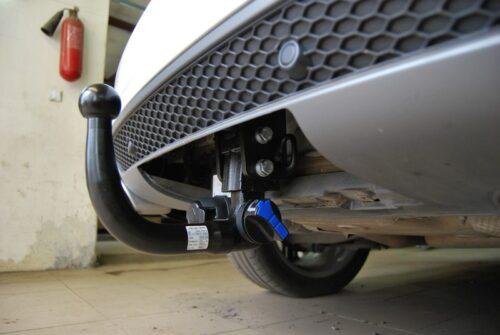 Фаркоп оцинкованный Honda Civic 5 дверный хетчбек 2006-2012 условно-съемное крепление шара - Фото