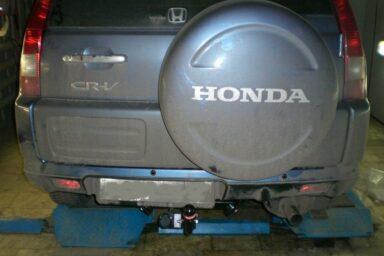 Фаркоп оцинкованный Honda CR-V 1997-2002 быстросъемное крепление шара