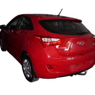 Фаркоп оцинкованный Hyundai i30 хетчбек 2010-2012 условно-съемное крепление шара
