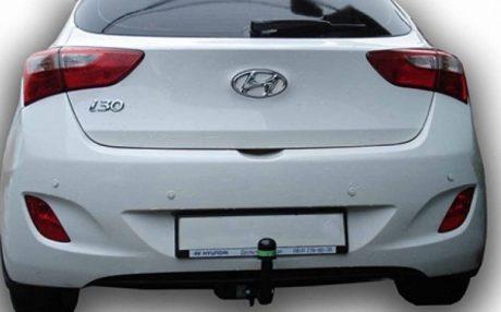 Фаркоп оцинкованный Hyundai i30 хетчбек 2012-2018, Kia Ceed хетчбек 2012-2018 быстросъемное крепление шара - Фото