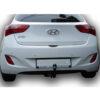 Фаркоп оцинкованный Hyundai i30 универсал 2007-2012 условно-съемное крепление шара