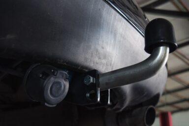 Фаркоп оцинкованный Jeep Renegade 2014-, FIAT 500X 2014- условно-съемное крепление шара
