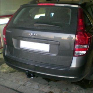 Фаркоп оцинкованный Kia Ceed универсал 2006-2012 условно-съемное крепление шара