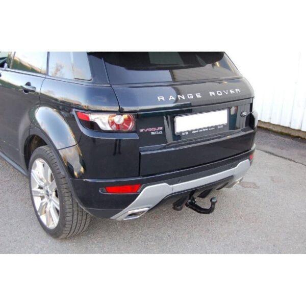 Фаркоп оцинкованный Land Rover Range Rover Evoque 2011-2019 быстросъемное крепление шара - Фото