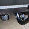 Фаркоп оцинкованный Mazda 323 BJ седан 1998-2004 условно-съемное крепление шара