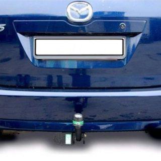 Фаркоп оцинкованный Mazda 5 2005-2010, 2010-2015 быстросъемное крепление шара