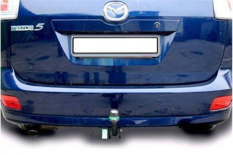 Фаркоп оцинкованный Mazda 5 2005-2010, 2010-2015 быстросъемное крепление шара - Фото