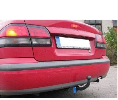 Фаркоп оцинкованный Mazda 626 GF седан 1997-2002 быстросъемное крепление шара - Фото